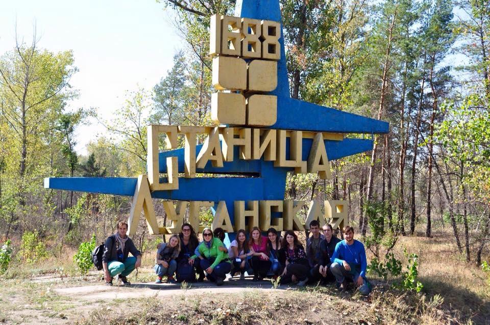 """Культурні активісти """"Нового Донбасу"""" провели 10 днів із волонтерською місією у Станично-Луганськомк районі"""