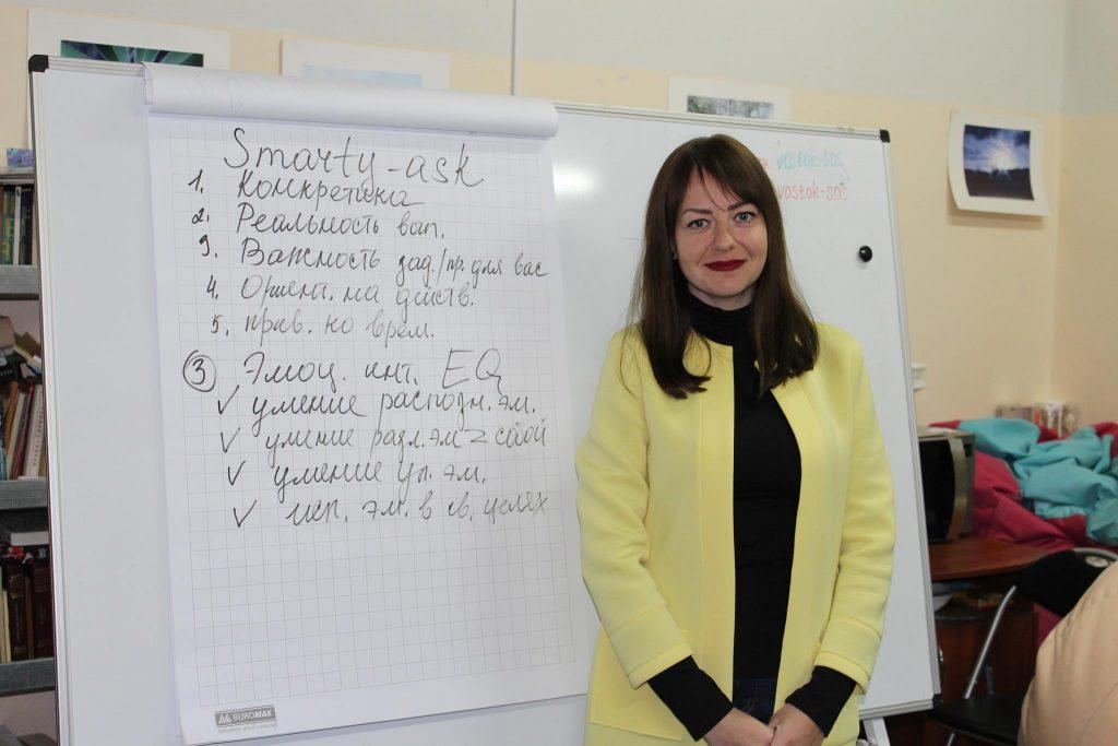 Анпилова Дарья, кандидат психологических наук, тренер, мотивационный оратор